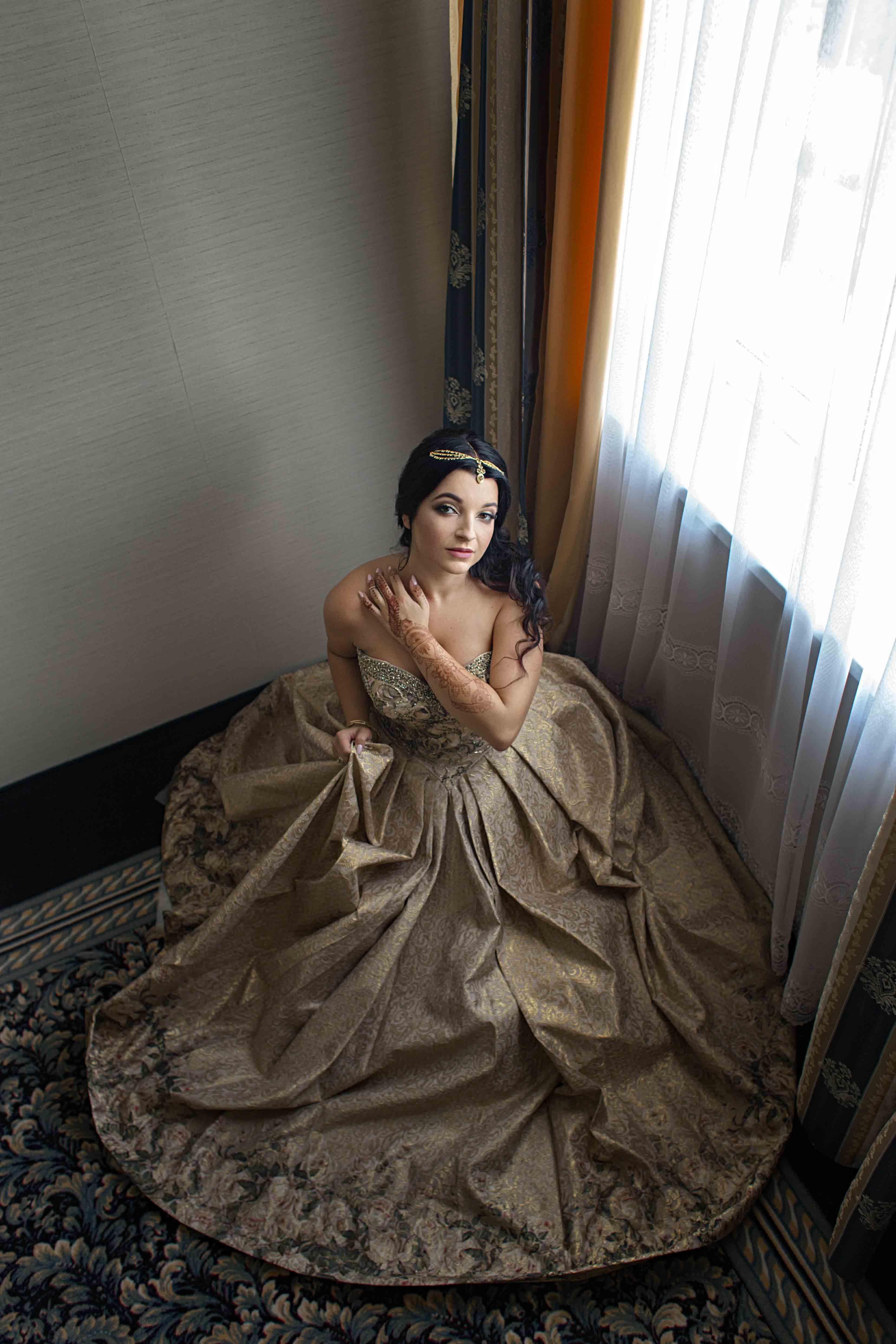 Sesja ślubna w Hotelu Windsor w Warszawie