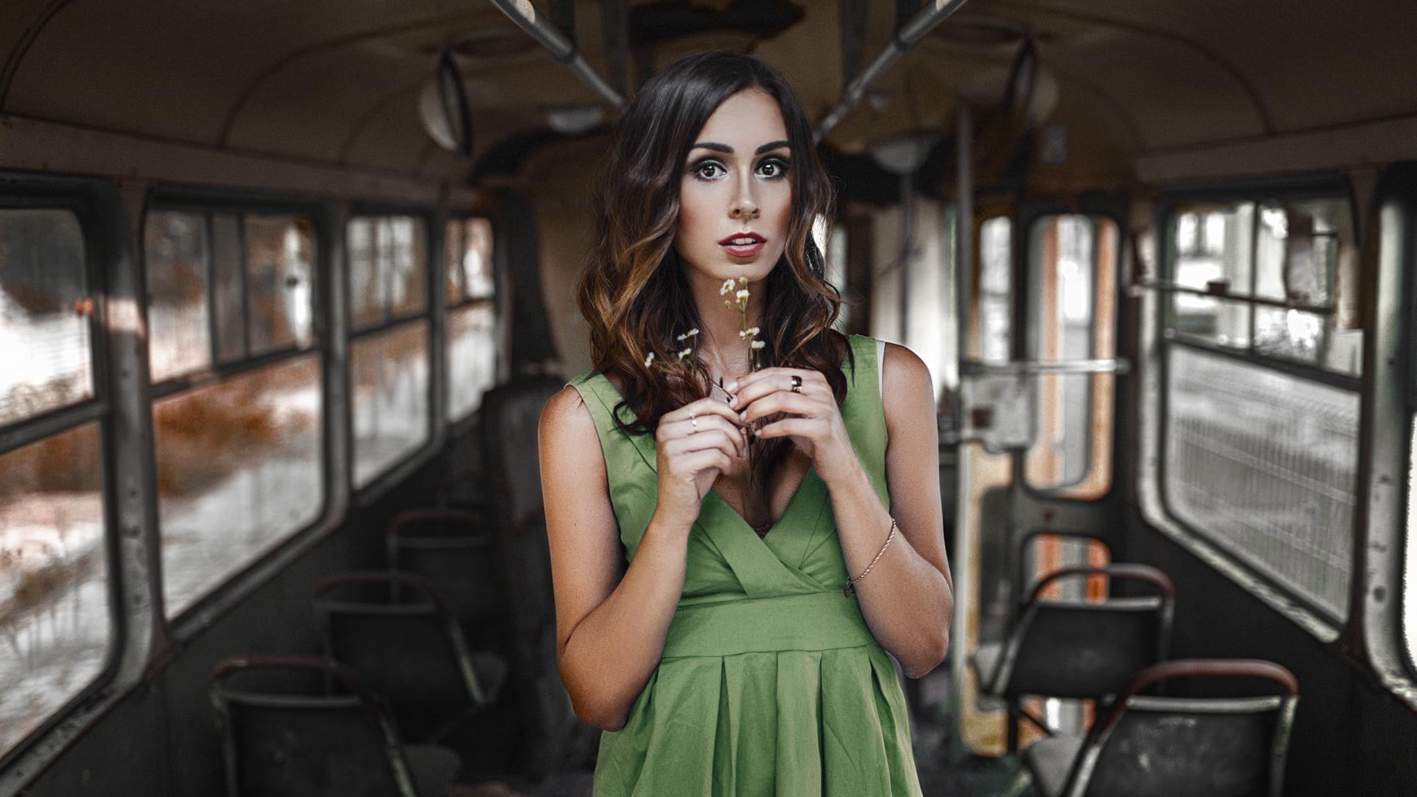 Sesja zdjęciowa we Wrocławiu w tramwaju