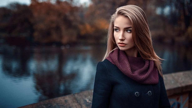 Portret kobiecy w Parku Południowym we Wrocławiu