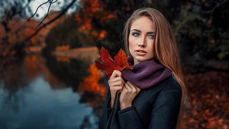 Jesienna sesja zdjeciowa w Parku Południowym we Wrocławiu