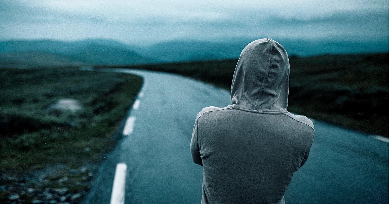 Portret mężczyzny cinematic look, Norwegia