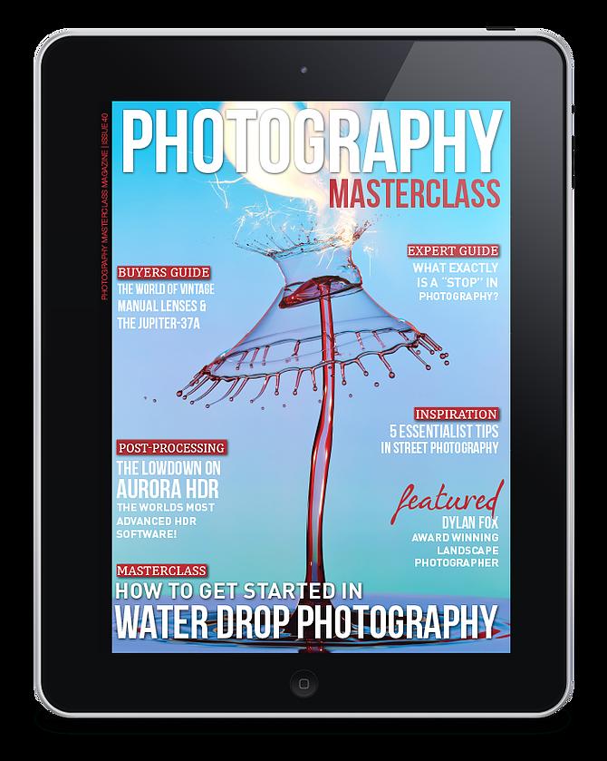 Publikacja w magazynie Photography Masterclass