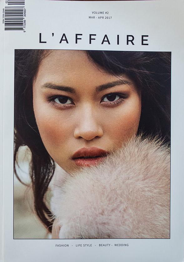 Publikacja w magazynie L'affaire