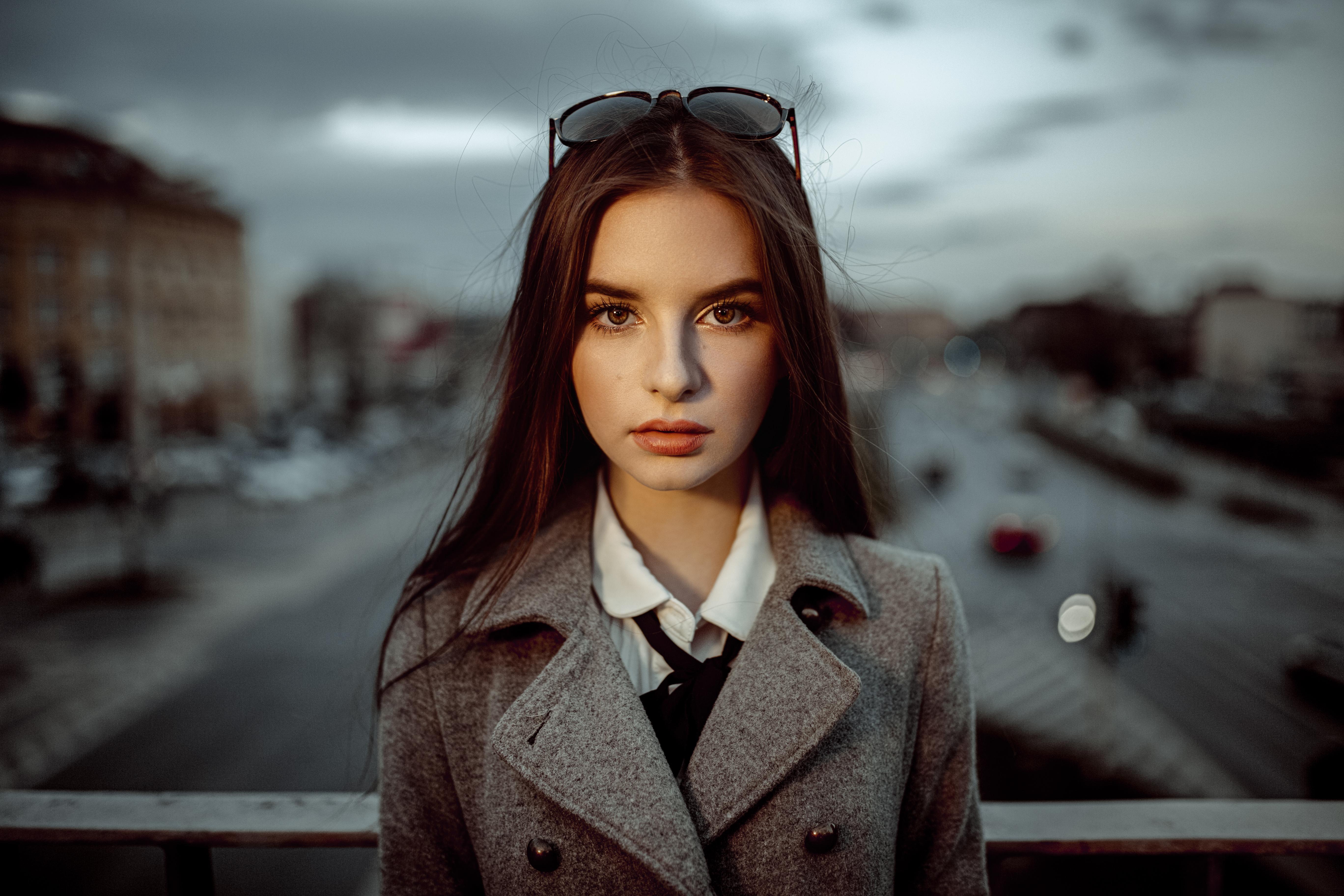 Portret Wiktorii Cwynar we Wrocławiu na ulicy Legnickiej